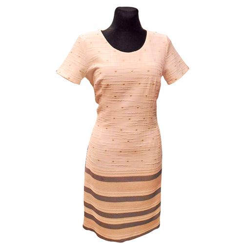 Šventinė suknelė NTX1 su trumpomis rankovėmis