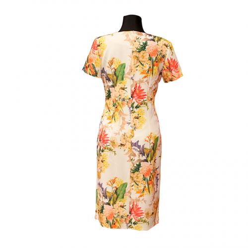 Šviesi gėlėta suknelė ANMAR