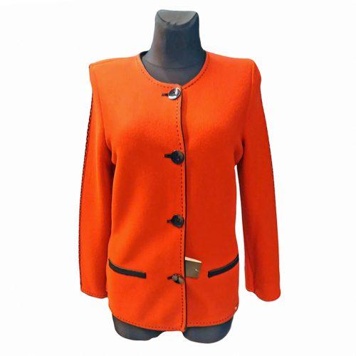 Oranžinis megztinis moterims ASTR28