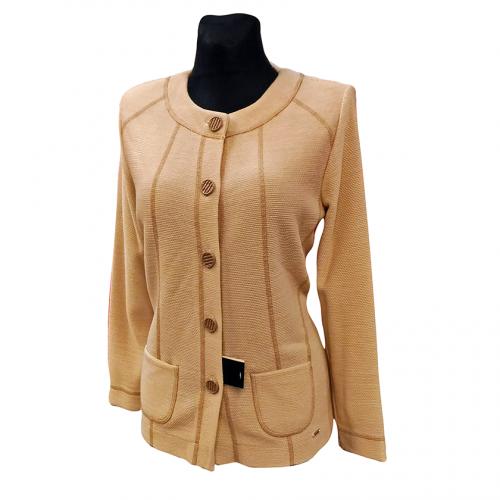 Klasikinis šviesus moteriškas megztinis ASTR8