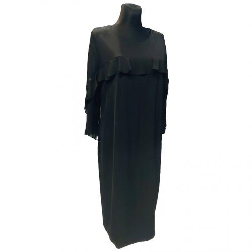 Juoda puošni suknelė RXNA000012