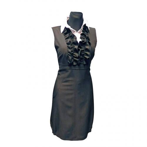 Stilinga suknelė-sarafanas