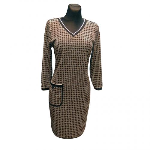 Neilga pilka suknelė AJS2