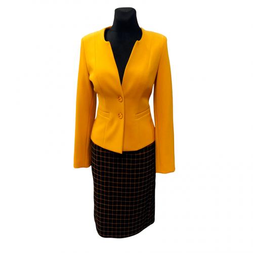 Moteriškas kostiumėlis KRLX8 (sijonas ir švarkas)