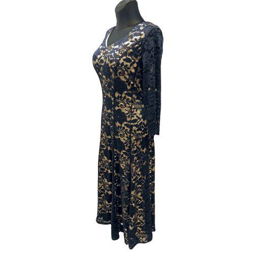Ilga prabangi gipiūrinė suknelė MGDLNA11