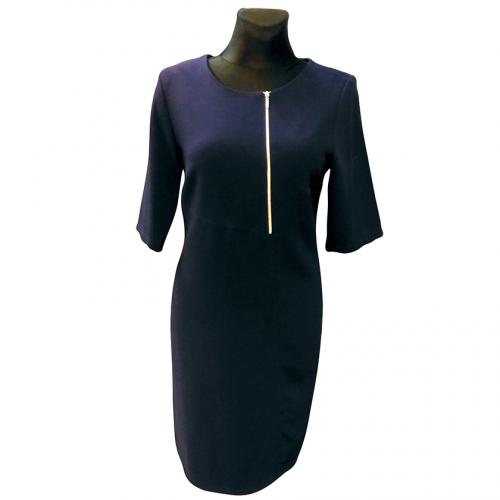 Klasikinė tamsiai mėlyna suknelė RXNAmel
