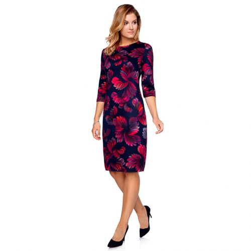 Klasikinė tamsių spalvų suknelė CLRxt
