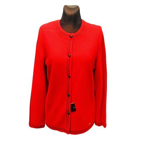 Klasikinis raudonas megztinis Astr30 raud