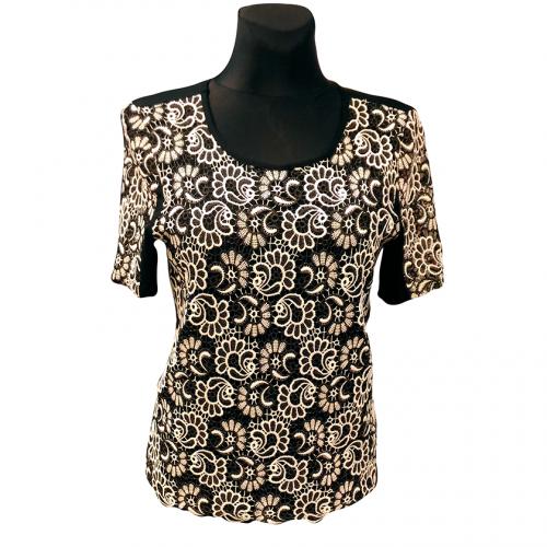 Tamprūs marškinėliai trumpomis rankovėmis MONIKA b