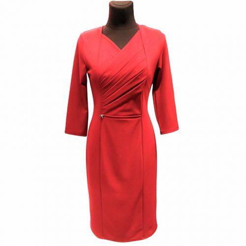 Klasikinė raudona suknelė moterims Tarcylia
