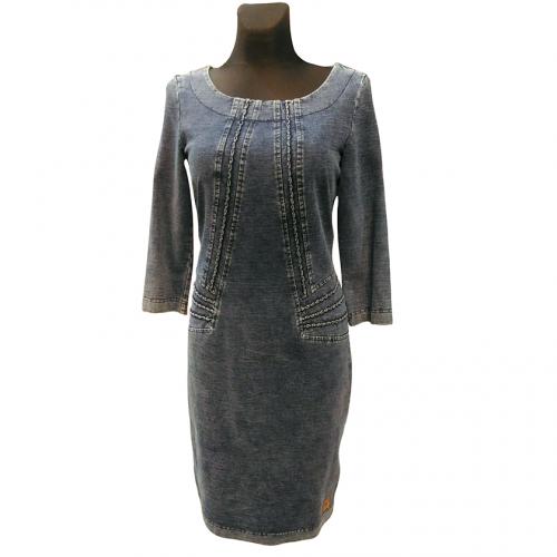 Džinsinė suknelė iki kelių AGATA