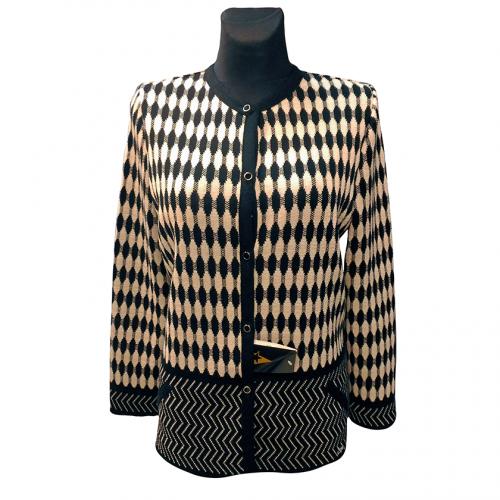 Juodai pilkas moteriškas megztinis Astr33