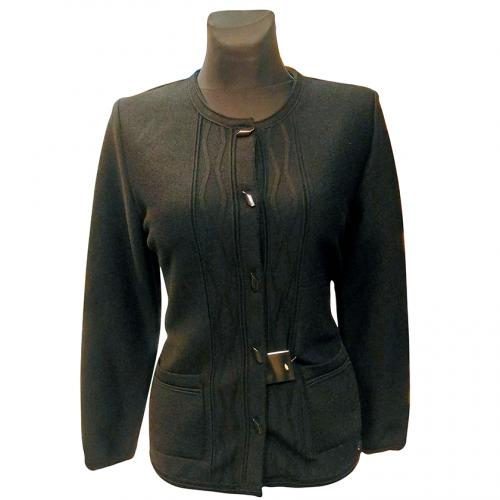 Juodas moteriškas megztinis Astr34