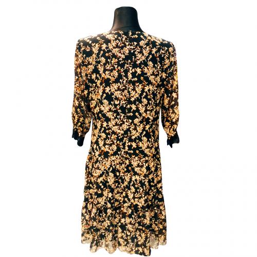 Marga suknelė iki kelių su pamušalu Mrgo 3