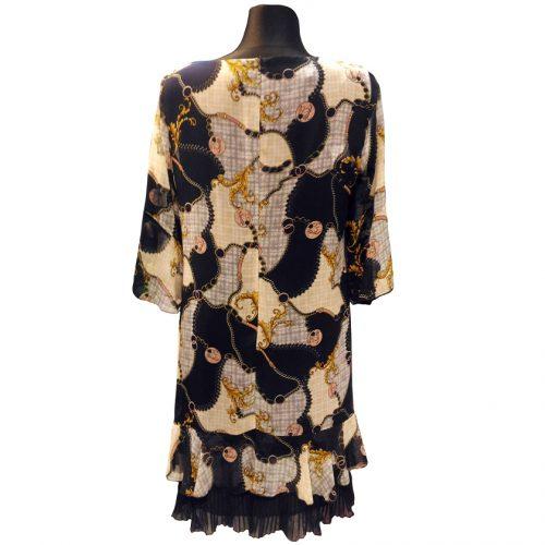 Plono audinio žaisminga suknelė su pamušalu Lcr 1