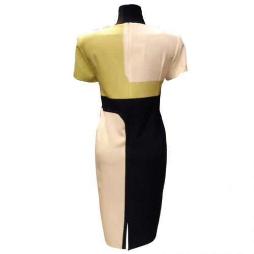 Elegantiška stilinga suknelė LM trumpomis rankovėmis
