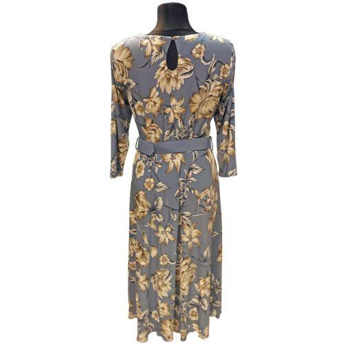 Elegantiška šviesiai mėlyna suknelė Mgdlna fl1