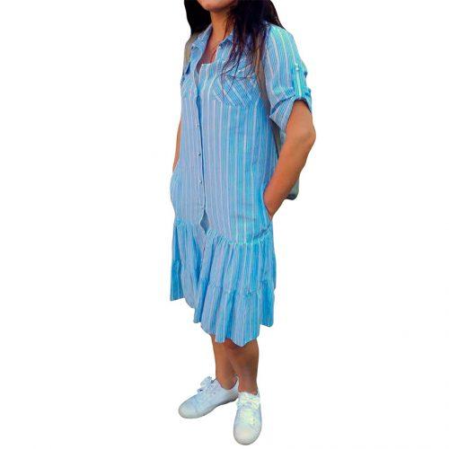 Laisvalaikio suknelė žemiau kelių Mgdlna M