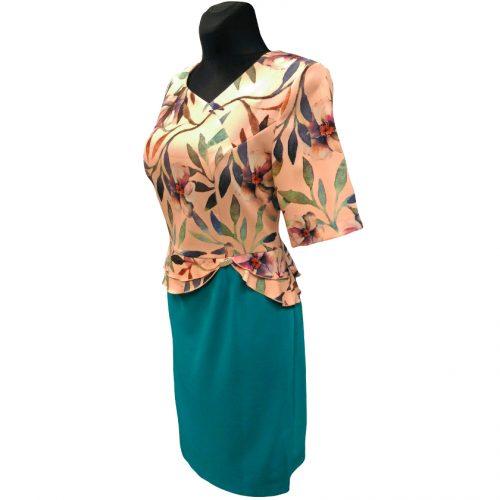 Kostiumėlio tipo elegantiška suknelė LCR_suit1