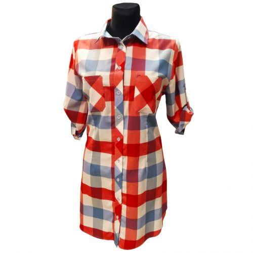 Ilgi languoti moteriški marškiniai Kma