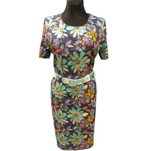 Vasariška gėlėta suknelė be pamušalo Wesley fl