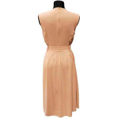 Vienspalvė suknelė be rankovių Inside