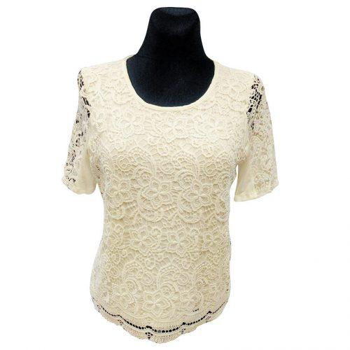 Tamprūs marškinėliai trumpomis rankovėmis MONIKA s
