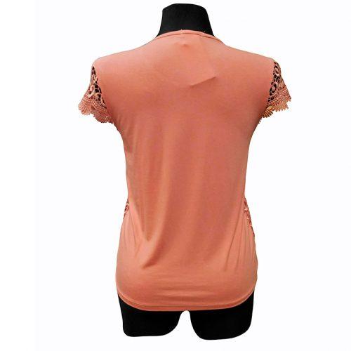 Rausvi moteriški marškinėliai Rmax raus