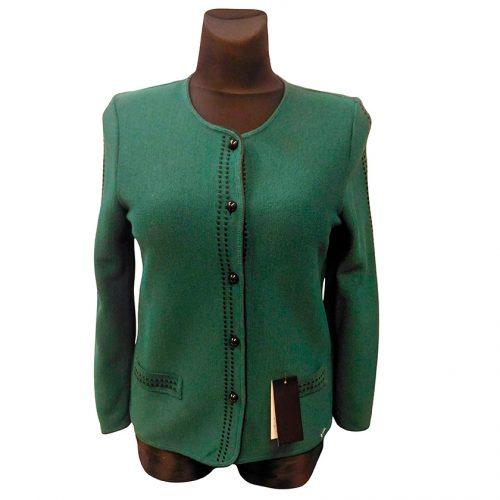 Žalias megztinis ilgomis rankovėmis ASTR32