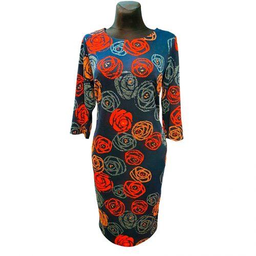 Puošni suknelė su rožėmis Clction ros red
