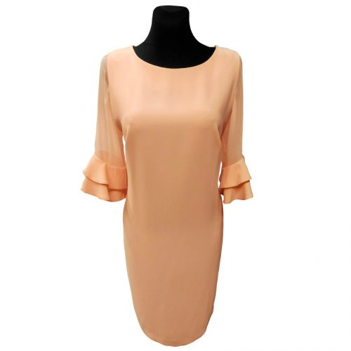 Puošni šviesi suknelė Clction slves