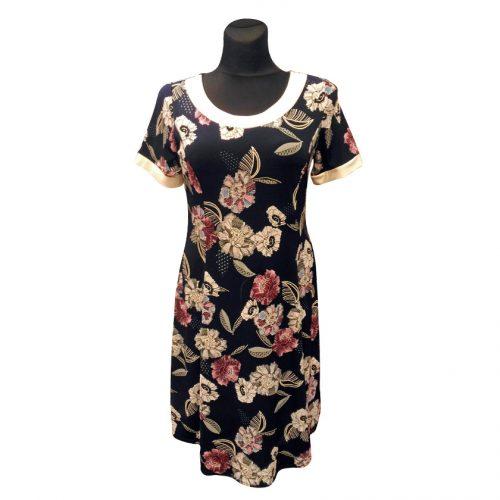 Gėlėta suknelė trumpomis rankovėmis Lucy n