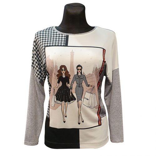 Madinga palaidinė-megztinis Top Model pic