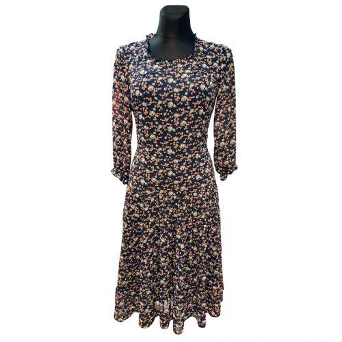 Lengva šifoninė suknelė Mgdlna sif pnk