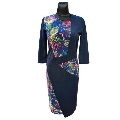 Mėlyna suknelė Tarcylia kombi nw