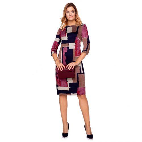 Klasikinė ryški suknelė Clr brd