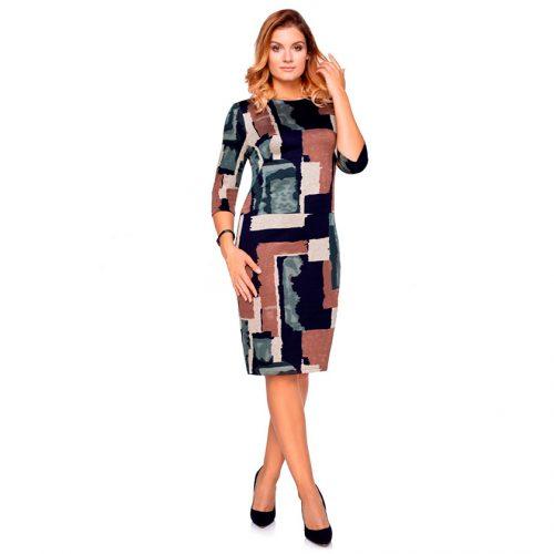 Klasikinė ryški suknelė Clr bgreen