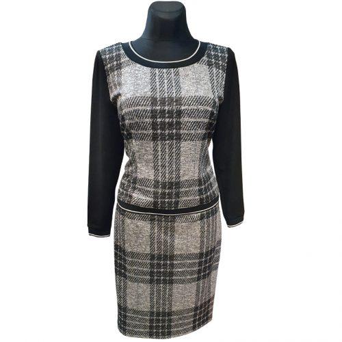 Klasikinis moteriškas kostiumas iš dviejų dalių (palaidinė ir sijonas) Mgdlna lng