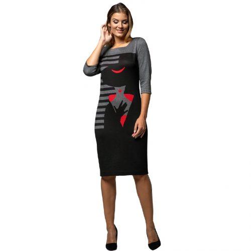 Originali klasikinė suknelė LM dame1