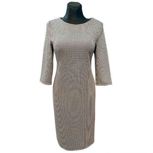 Klasikinė pilka suknelė Clr plk lng