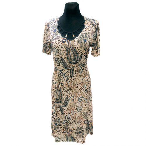 Plona suknelė be pamušalo žemiau kelių Gast