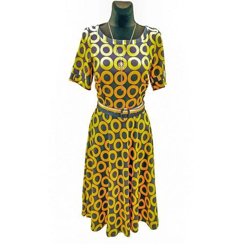 Jaunatviška suknelė žemiau kelių Mrgo Yel