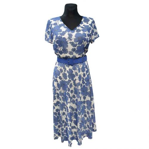 Žaisminga ilga suknelė su pamušalu Mgdlna bsif belt