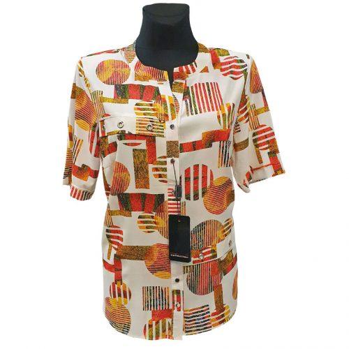 Moteriški marškiniai su kalnieriumi Alicja mrg riv