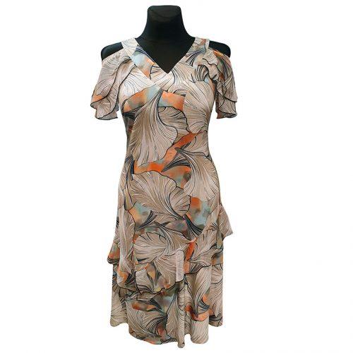 Žavi vasariška suknelė trumpomis rankovėmis Ajs neo