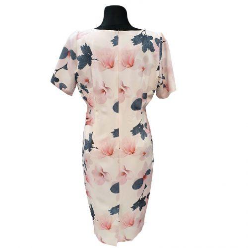 Gėlėta šventinė suknelė su pamušalu Clction gel xt