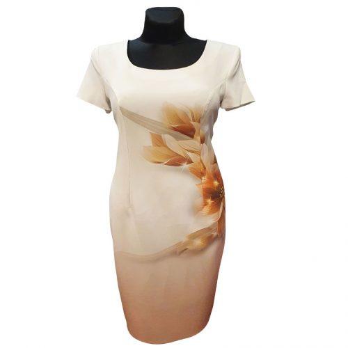 Klasikinė suknelė trumpomis rankovėmis Clr7