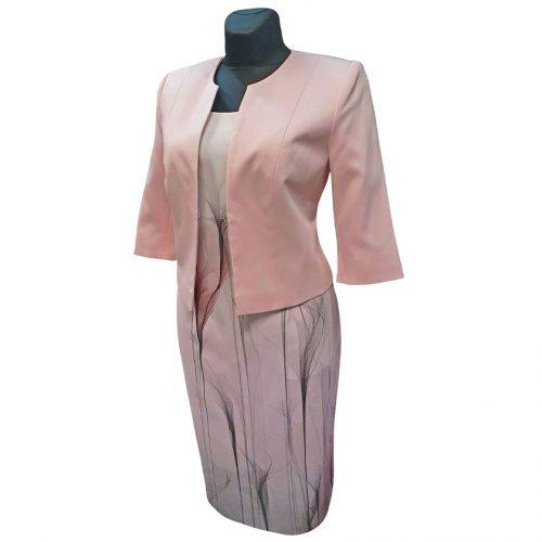 Klasikinė suknelė trumpomis rankovėmis Clr8