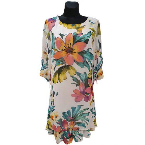 Lengva vasariška laisvalaikio suknelė Clction sif short gel wh