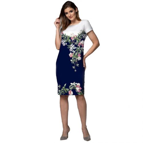 Elegantiška stilinga suknelė LM gel mel wh